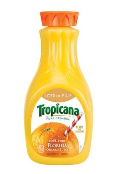 Tropicana Pure Premium Orange Juice (Lots of Pulp)