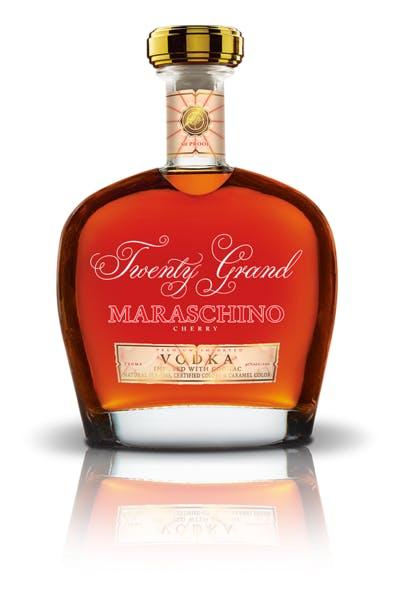 Twenty Grand Maraschino Cherry Cognac Infused Vodka