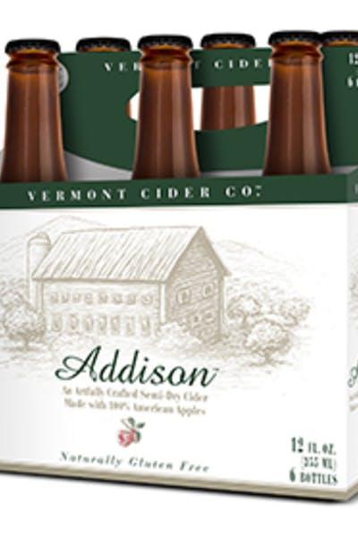 Vermont Cider Addison Semi Dry