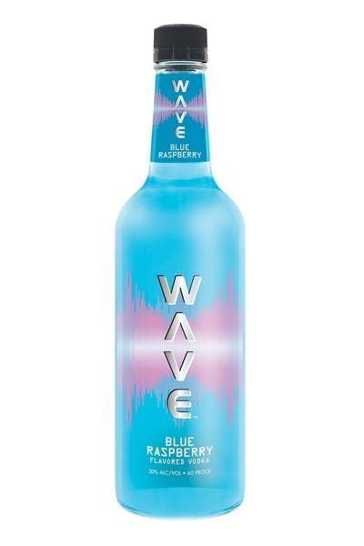 Wave Blue Raspberry Vodka