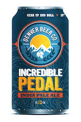 Denver Beer Co. Incredible Pedal IPA