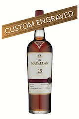 * ENGRAVED The Macallan 25 Year