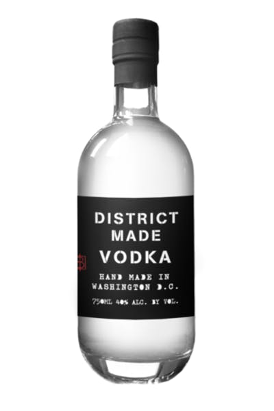 One Eight Distilling District Made Vodka