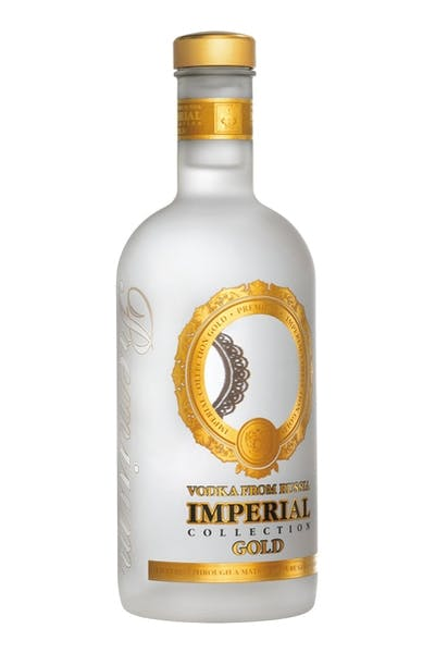 Imperial Collection Vodka Gold