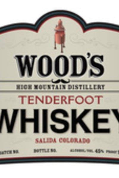 Wood's High Mountain Tenderfoot Whiskey