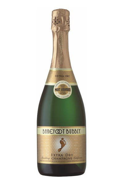 Barefoot Bubbly Extra Dry California Champagne
