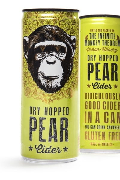 The Infinite Monkey Theorem Pear Cider
