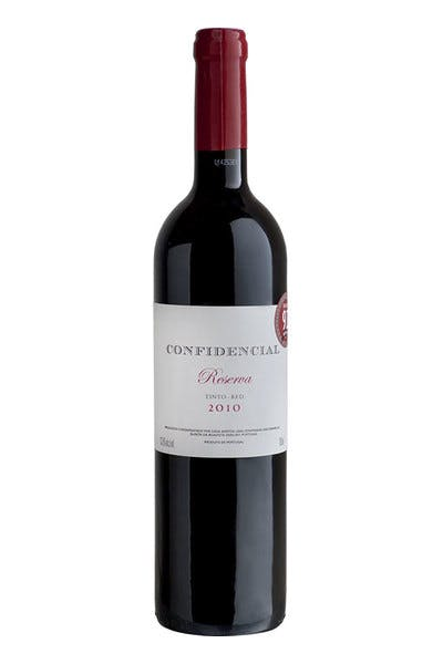 Confidencial Reserve Red 2010
