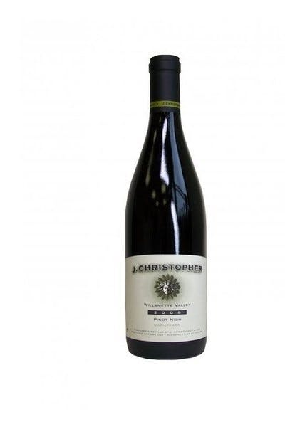 J Christopher Pinot Noir 2012