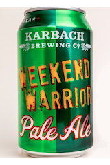 Karbach Weekend Warrios Pale Ale