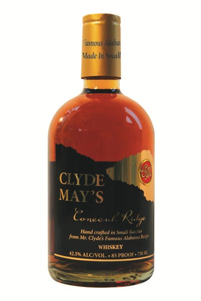 Clyde May's Conecuh Ridge Whiskey