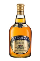 Gibson's Finest 12 Year Canadian Whisky