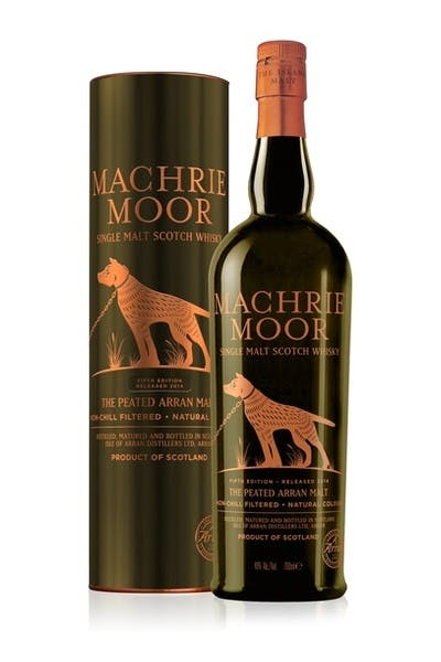 Arran Machrie Moor Single Malt Scotch