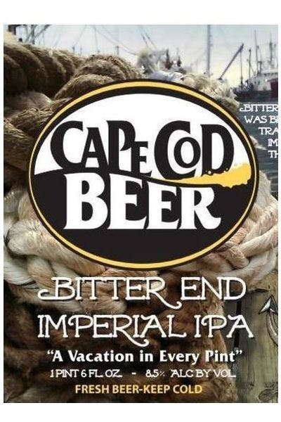 Cape Cod Beer Bitter End Imperial IPA