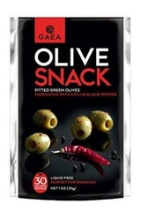 Gaea Pitted Green Olives With Chili Pepper