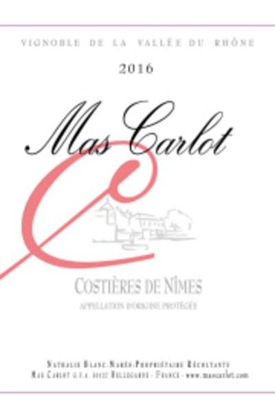 Mas Carlot Costières de Nîmes Rose