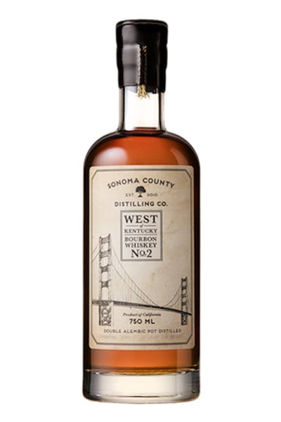 Sonoma County Distilling West Of Kentucky Cask #2 Bourbon