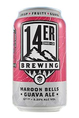 14er Brewing Maroon Bells Guava Ale