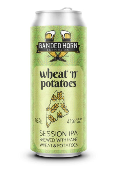 Banded Horn Wheat & Potato Session IPA