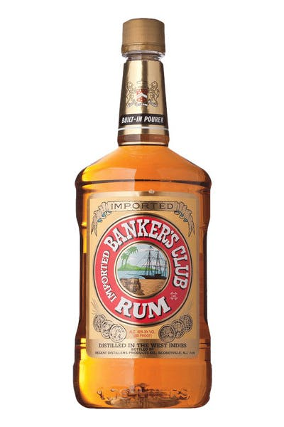 Bankers Club Gold Rum