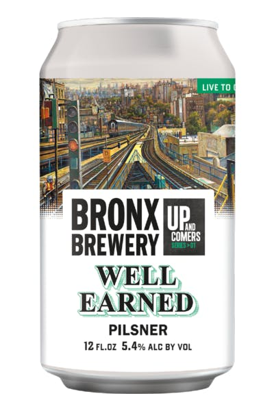 Bronx Well Earned Pilsner