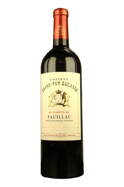 Chateau Grand Puy Ducasse Pauillac 2010