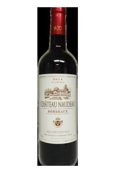 Chateau Naudeau Red Bordeaux
