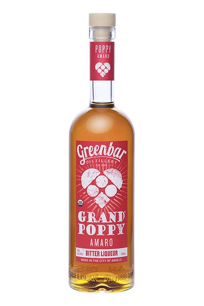 Grand Poppy Amaro from Greenbar Distillery