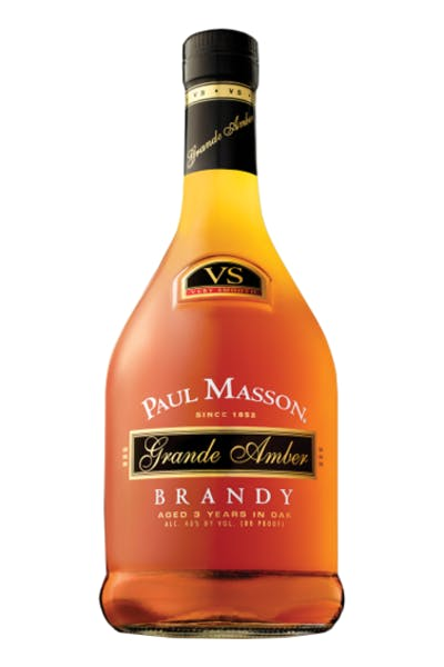 Paul Masson Grand Amber Brandy