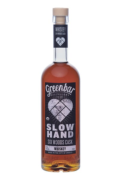 Slow Hand Six Woods Cask Whiskey from Greenbar Distillery