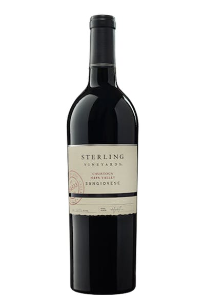 Sterling Vineyards Cellar Club Napa Valley Sangiovese